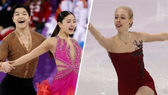 US Advances to Free Skate in Team Event; Currently in 3rd