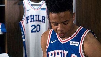 Sixers Show 'Brotherly Love' With New Uniforms