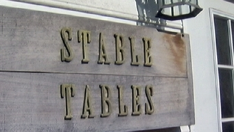 Recycling Horse Stables for Tables