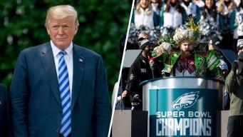 Trump Cancels Eagles White House Visit After Anthem Dispute