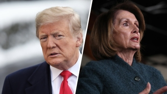 AP Fact Check: Trump Pokes Pelosi for Trip She Didn't Take