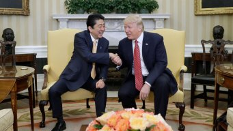 Trump Welcomes Ally Japan After Easing US-China Tensions