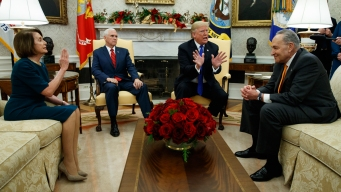 Oval Office Argument: President and Democrat Leaders Feud Over Border Wall Funding