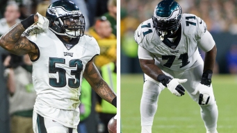 Eagles Injury Report: The Latest on Injuries to Nigel Bradham and Jason Peters