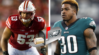 Corey Clement's Role, Picking a UDFA to Make the Team