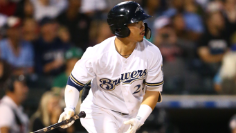 Phillies Likely to See Brewers' Prospect Keston Hiura This Week