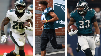 Ranking Candidates to Win Eagles' Last Few Skill Position Roster Spots