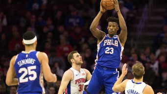 Jimmy Butler Leaves Sixers-Pistons Game With Groin Injury