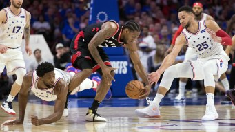 Sixers' Defense Fueling Everything as Series Vs. Raptors Gets Chippy