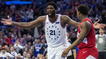 Joel Embiid Struggles in Game 4 Loss to Raptors While Dealing With Another Illness
