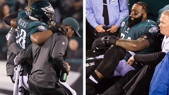 Eagles' Fears With Peters, Hicks Injuries Confirmed