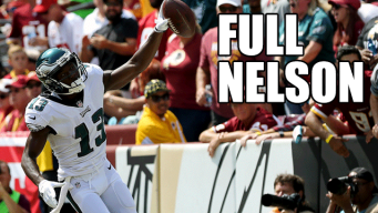 With It Finally Counting, Nelson Agholor Legitimizes Offseason Reinvention in Season Opener