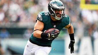 Eagles Injury Update: Zach Ertz Clears Concussion Protocol