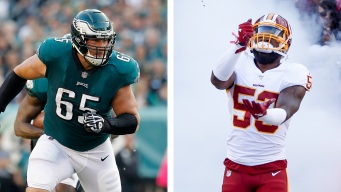 Lane Johnson Publicly Squashes Beef With New Eagles Teammate Zach Brown