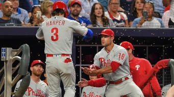 Zach Eflin Excellent, Bryce Harper Homers and Phillies Beat Braves Again
