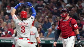 O-H, Yeah: Harper Gives Indians Fans Something to Remember
