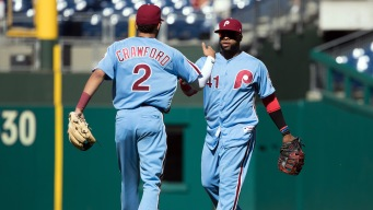 Santana, Crawford Say Goodbye to Philly in Classy Fashion