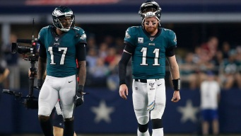 Wentz Frustrated Eagles 'Didn't Show Up' in Big Loss