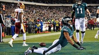 Eagles 28, Redskins 13 - Zach Ertz Breaks Team Record, Golden Tate Excels as NFC East Hopes Are Alive