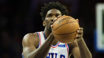 Joel Embiid (Left Knee Soreness) Questionable for Game 2