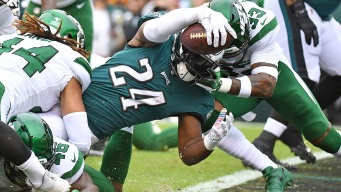 This Week's 10 Mind-blowing Eagles Stats, Featuring a Whole Lot of Jordan Howard