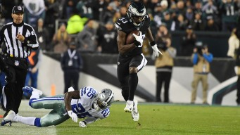 Holding the Ball Seems to Be Right Recipe for Eagles