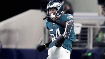 Eagles Linebacker Kamu Grugier-Hill Defends His Cowboys Trash Talk