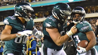 Eagles Not Ready to Say They're Back to Super Bowl Form...; Yet