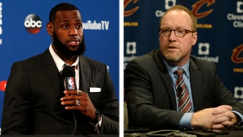 LeBron's Former GM, David Griffin, Thinks Sixers Have 'a Leg Up'