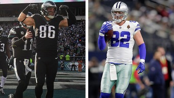As He Chases His Records, Zach Ertz Reflects on Jason Witten's Influence