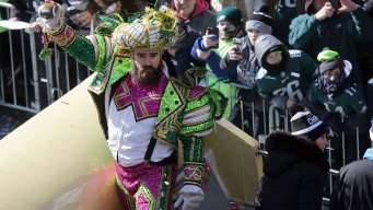 How Jason Kelce Ended Up in a Mummers Costume