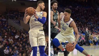 Sixers Pair Simmons, Fultz Briefly in NBA-best 11th Straight Win