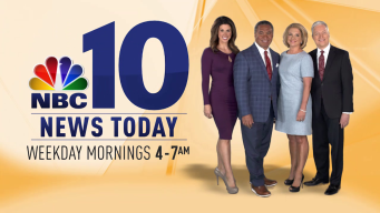 NBC10 News Today: Now Starting at 4 a.m.