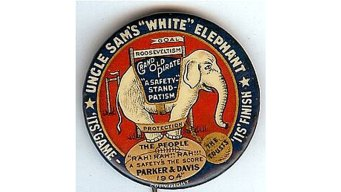 Campaign Button Collection Holds History