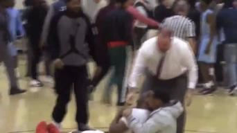 Brawl Breaks Out at Delaware Basketball Game