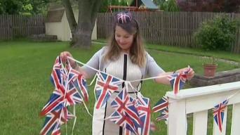 The British Celebrating the Royal Wedding in the States