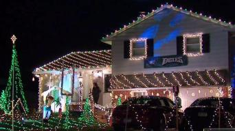 This Homeowner Might Want to Keep His Christmas Light Up Until February