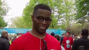 Emotional Run for NBC10's Dray Clark