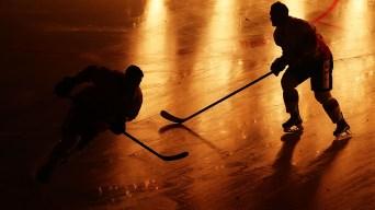 Shirtless Man Storms NJ Hockey Rink, Berates Players: Police