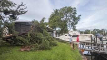 After Slamming Florida, Hermine Thunders Up East Coast
