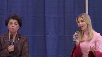 Ivanka Trump Talks Tax Reform in Bucks County