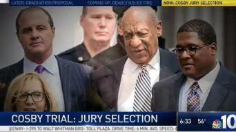 Jury Selection Set in Bill Cosby Trial