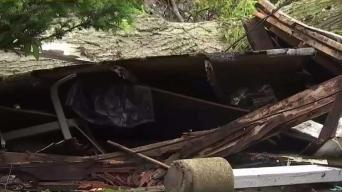New Jersey Towns Clean Up After Storm Damages Homes