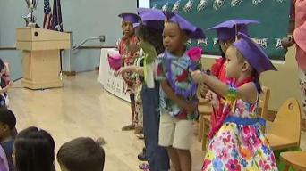 Young Hearing-Impaired Students Give Special Eagles Tribute