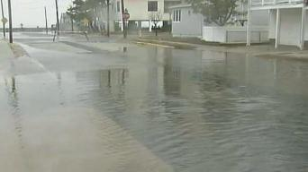 Street Flooding Along the Jersey Shore