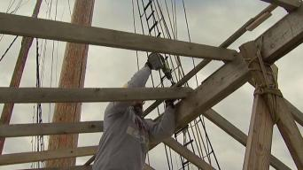 Volunteers Help Winterize Tall Ship The Gazela