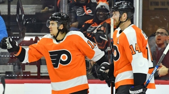 Travis Konecny Wows, Flyers Kick Off Alain Vigneault Era With Win Over Blackhawks in NHL Global Series