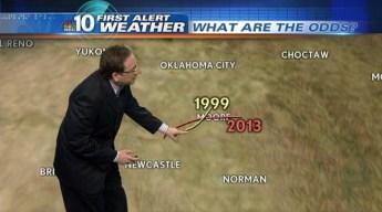 Odds of EF5 Tornado Hitting Same Town Twice