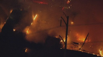 WATCH: Southwest Philly Warehouse Fire Time-Lapse