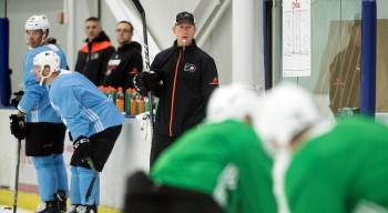 Bizarre, Awkward Time for Flyers Players
